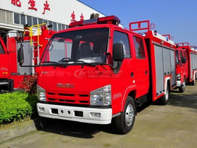 Fire Engine - ISUZU - 4CBM