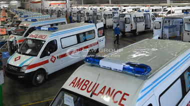 150 ambulances exported to Kazakhstan