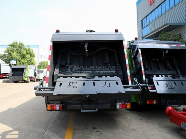 Diversified Overturning Mechanism of isuzu garbage truck