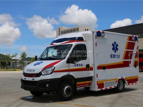 Iveco Ambulance Succesful Delivered to Chengdu For WUG 2021