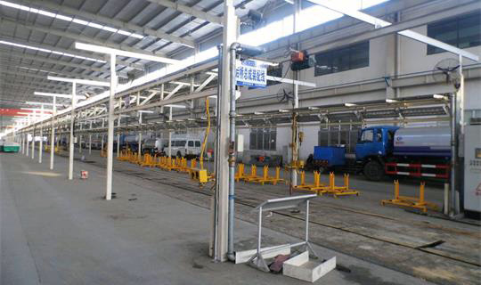 Assembly line of CLW Group