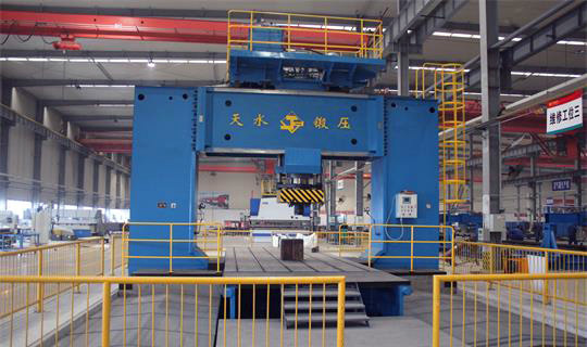 Forging process of CLW Group
