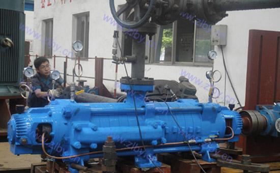 自平衡多级泵测试