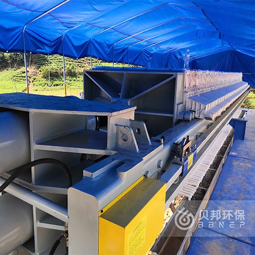 贝邦环保-车载厢式压滤机-打桩泥浆处理设备