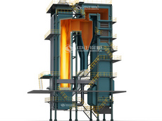 DHX coal-fired CFB (circulating fluidized bed) hot water boiler