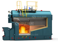 DZL series coal-fired hot water boiler