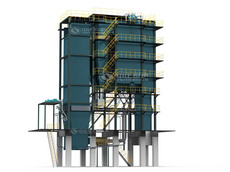 SHX coal-fired CFB (circulating fluidized bed) steam boiler