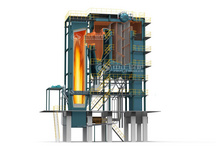SHX coal-fired CFB (circulating fluidized bed) hot water boiler