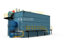 SZS series gas-fired (oil-fired) steam boiler