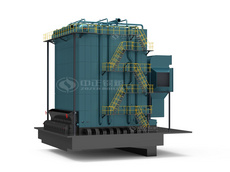 DHL Series coal-fired steam boiler