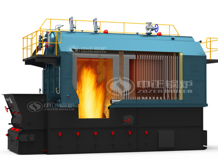 SZL series biomass-fired hot water boiler