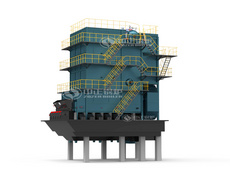 SHL series biomass-fired steam boiler