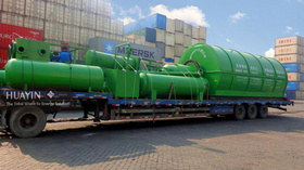 Two Sets Waste Tyre Pyrolysis Plants in South Africa