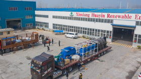 One Ton Plastic Pyrolysis Plant Delivered to Indonesia