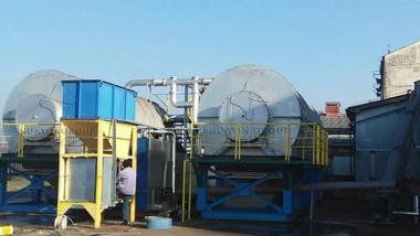 Two Sets Ten Ton Tyre Pyrolysis Plants in Bosnia and Herzegovina