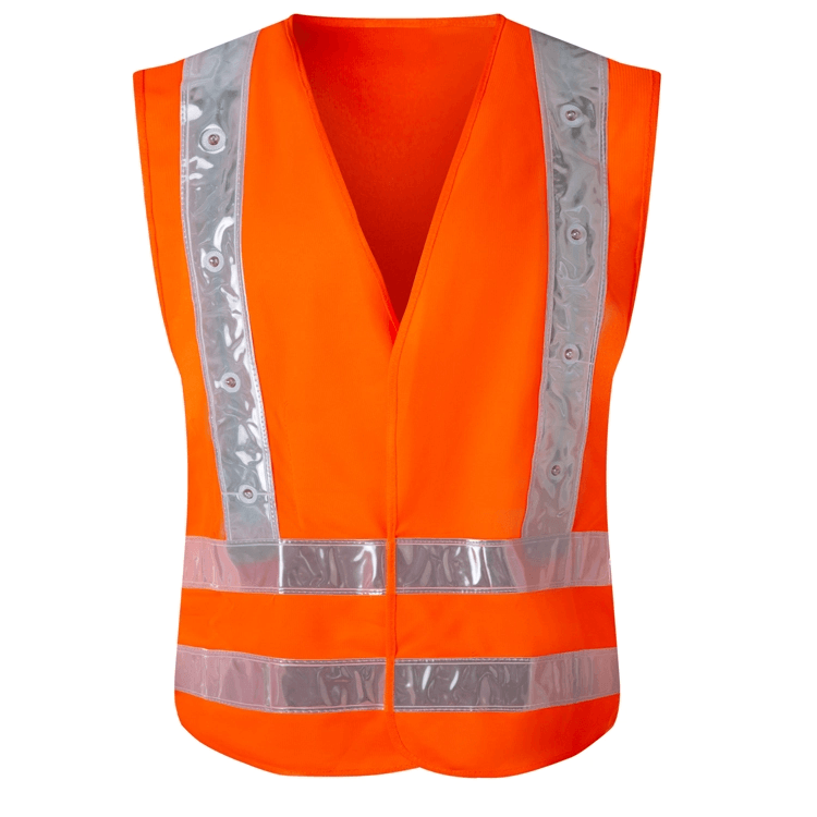 Wholesale multi size running reflective vest safety strap visibility Cycling Hiking