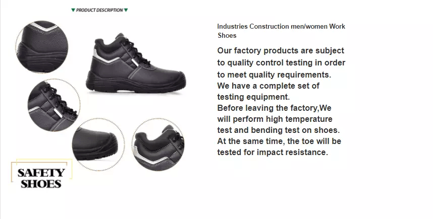 China factory supply directly cheap waterproof electrician's safety work shoes