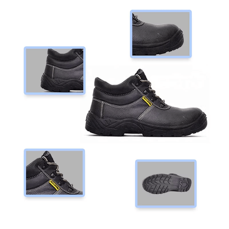 Architectural men's outdoor large size steel toe work boots shoes anti-puncture safety shoes