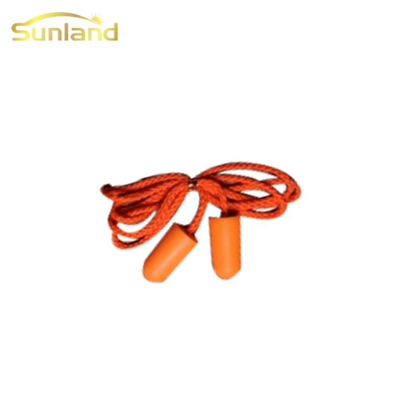 Best sale noise silicone ear plugs with string water proof