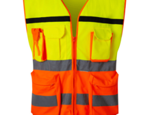 Cheap custom lightweight safety vest strap reflective coverall