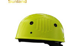 Safety helmet in construction site — Stock Photo ...
