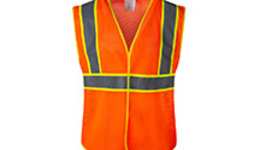 High Visibility Safety Vests | Reflective Black Bottom ...