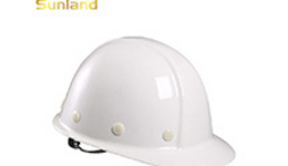 Safety Helmet Construction Helmet Con With Long Shadow On ...
