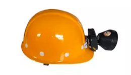 US4982452A - Safety helmet provided with an interlock ...
