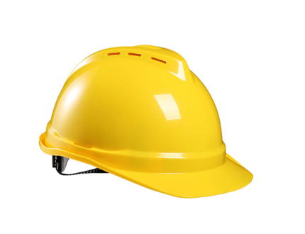 Adjustable Industrial Vented Hard Hat Ratchet ABS Safety Helmet