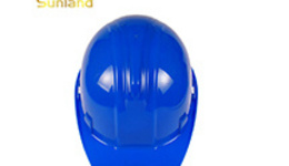 Safety helmets on construction sites