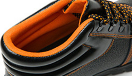 Safety shoes flying weave anti-smashing and anti ...