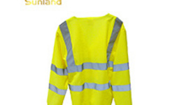 High Visibility Yellow and Orange Color Reflective Safety Vest