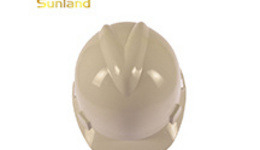 MSA White V-Gard® Polyethylene Full Brim Hard Hat With ...