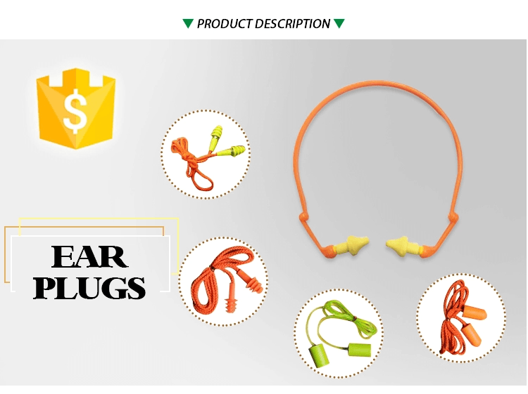 Fast delivery custom made reusable anti-noise safety silicone ear plugs silicone