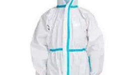 Disposable Protective Coverall White Blue - Buy Disposable ...