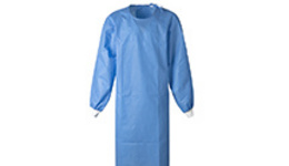 Custom Non woven Medical Disposable Isolation Gown AAMI ...