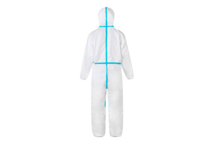 Microporous Non Woven Protective Suit Disposable Coverall Full Body Biological Safety Clothing Isolation Gown