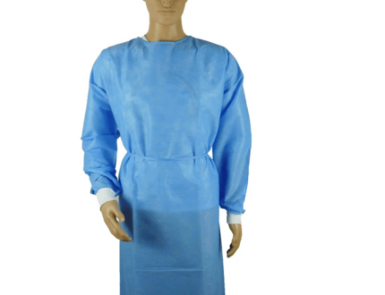 disposable waterproof gowns surgical gown non-sterile ppe isolation gown