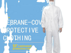 High quality Coverall Disposable Waterproof White clothing