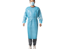 PPE Professional Disposable waterproof protective CPE gowns
