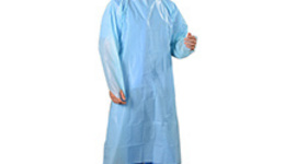 Researcher Dressed Protective Clothing Tests Avian Flu ...