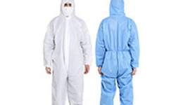 Protective Coverall Isolation Gown Protective Clothing in ...
