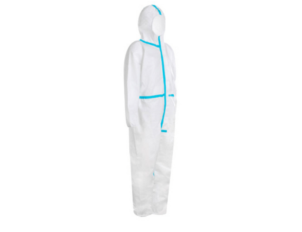 Hot sale for wholesale non woven disposable Microporous Working Suits coverall suit
