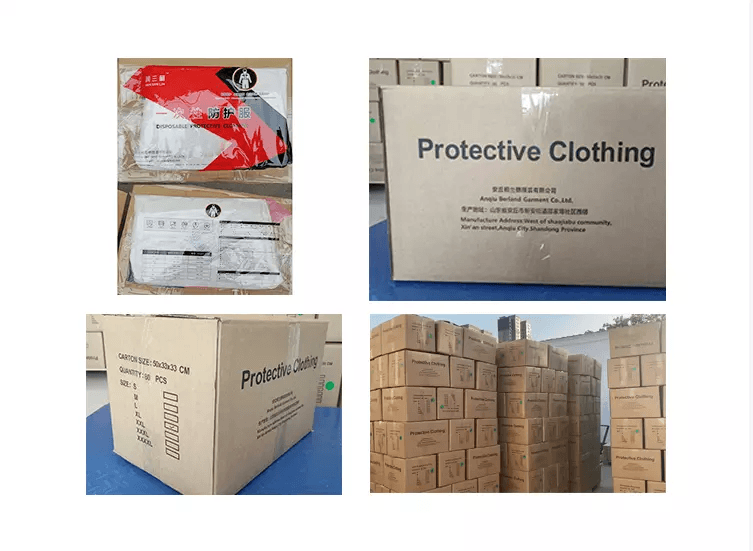 Liquid chemicals Resistance disposable Microporous Type 1 2 3 coverall