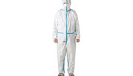 China AAMI Level 2 PP+PE Protective Isolation Gown Photos ...
