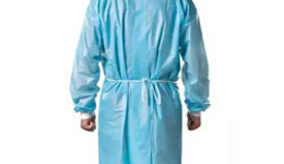 China Antistatic PP Isolation Gown with Knitted Cuff ...