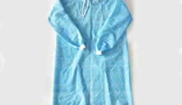 Disposable medical isolation gown and material ...