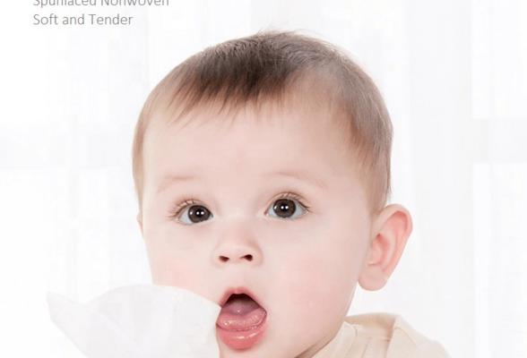 Biodegradable Organic Korean Angel Curash Hope Tender Love Baby Bare Bottom Tooth Nose Cloth Wet Wipe