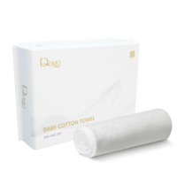 Disposable Biodegradable Bamboo Lint Free Nonwoven Wet and Dry Tissue Baby Facial Antibacterial Clean Wipe