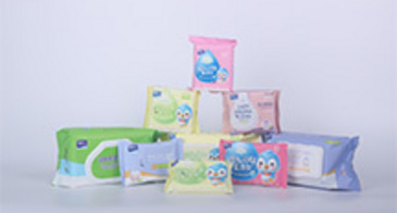 Disposable Non-alcoholic Cleaning Wet Wipes Baby Wipe ...